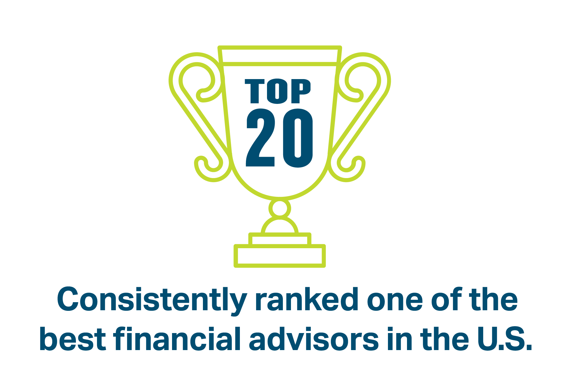 DD&F is consistently ranked one of the best financial advisors in the U.S. by S&P Global Market Intelligence