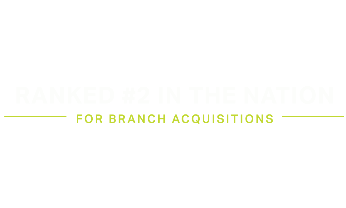S&P Ranking for Branch Sales